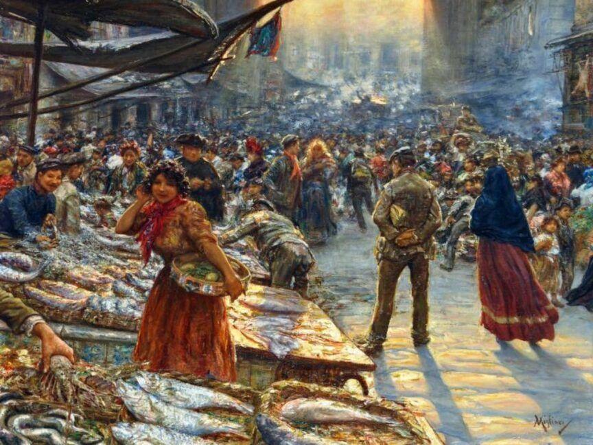 Lo street food, a Napoli, durante l'era Borbonica-1