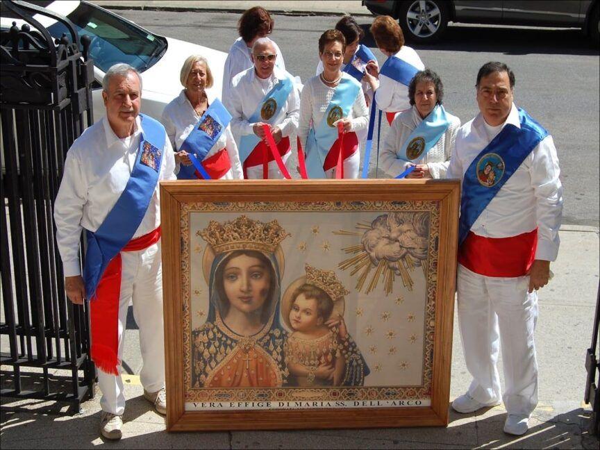I Fujenti e la venerazione per la Madonna dell'Arco-1