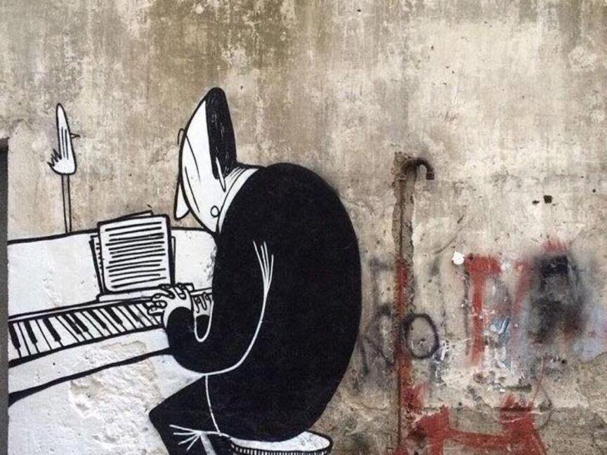 La street art di Alex Senna a Napoli-1