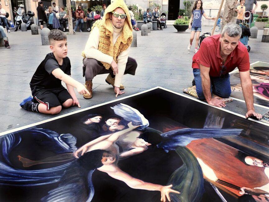 Madonnari autentici artisti di strada -1