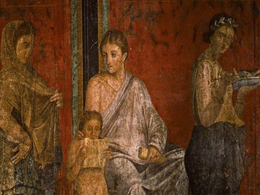 Moda femminile pompeiana