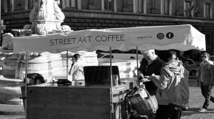 don cafe street art coffee