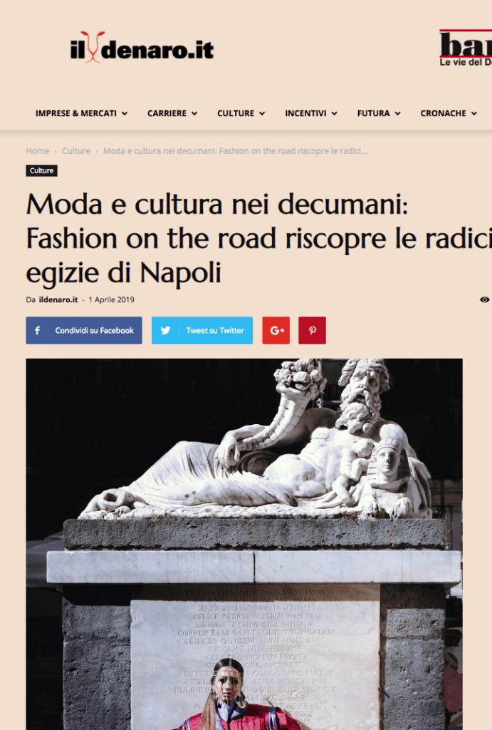 Napoli fashion on the road - Il denaro- Napoli capitale della moda-1